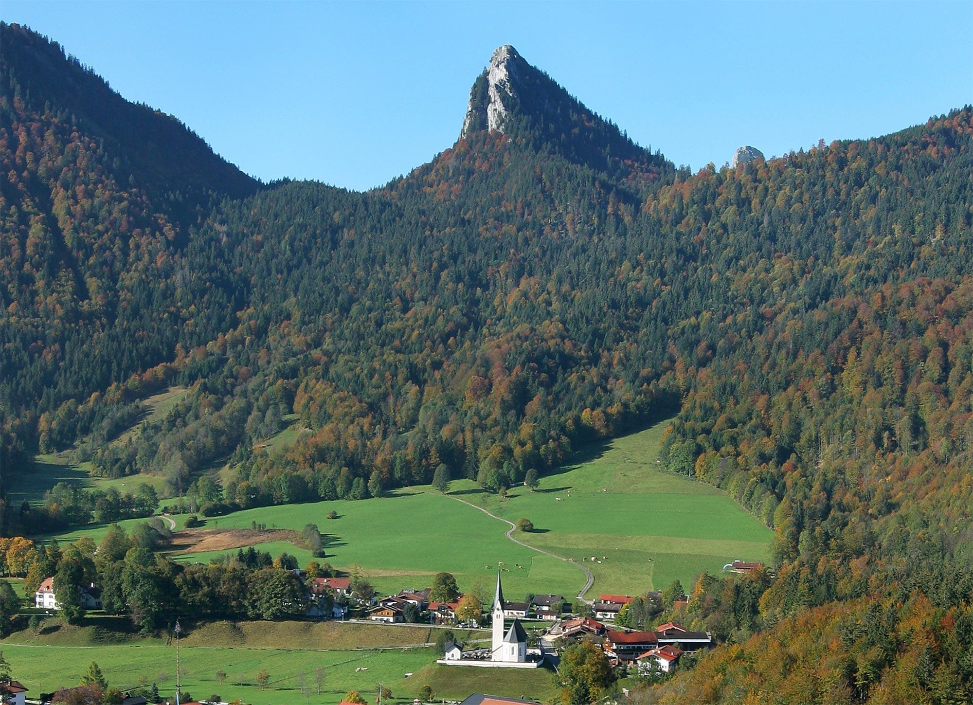 Blick über die Gemeinde Kreuth / Foto: Gemeinde Kreuth