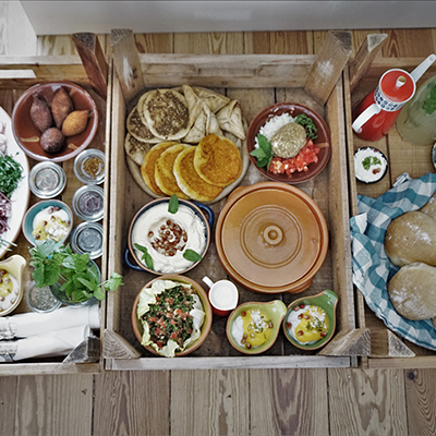 A Lebanese brunch can be organized on request