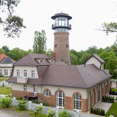 In dem ehemaligen Wasser- und Elektrizitätswerk Bad Saarow Urlaub machen