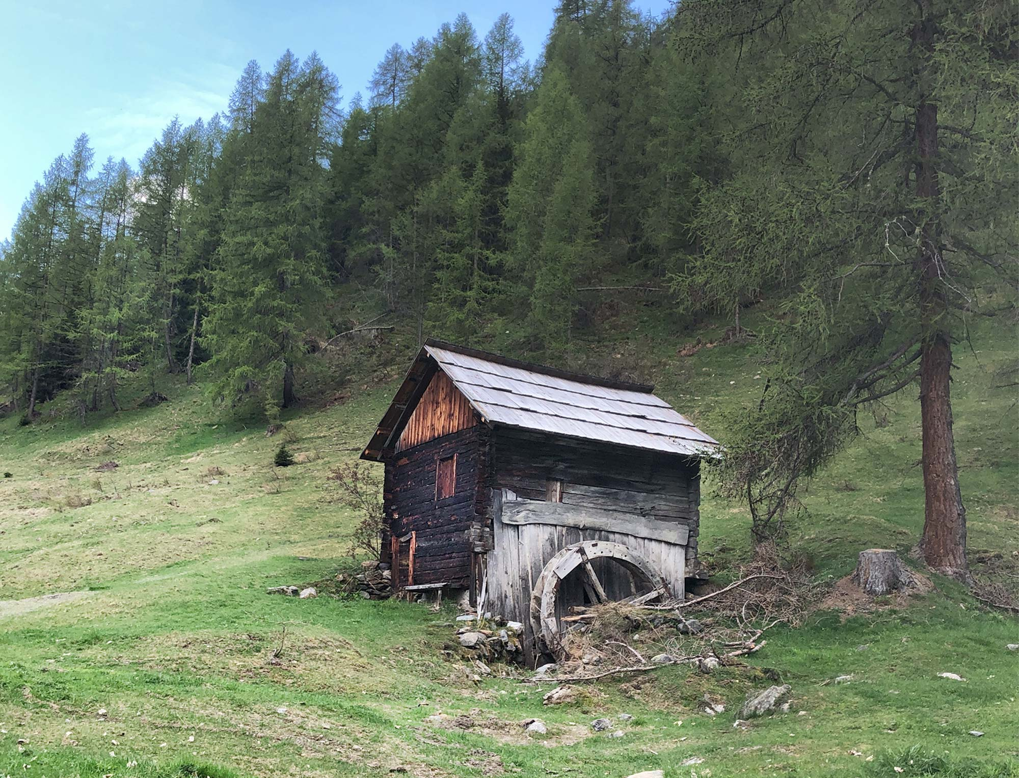 Schupfe am Berg