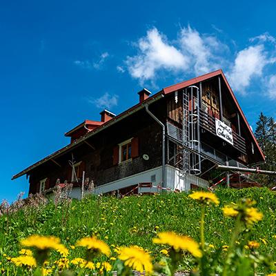 Das ehemals königliche Forsthaus Berghüs am Grünten