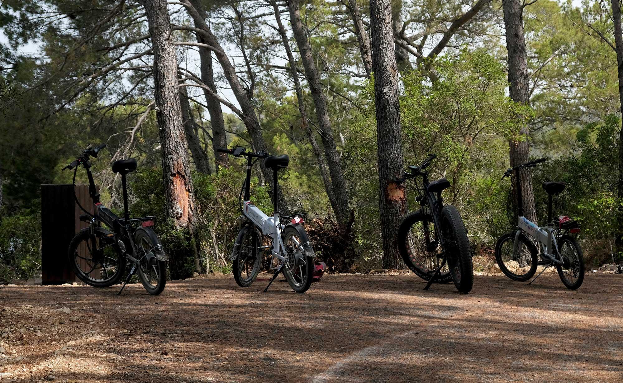 Mit dem Fahrrad in Mljet unterwegs
