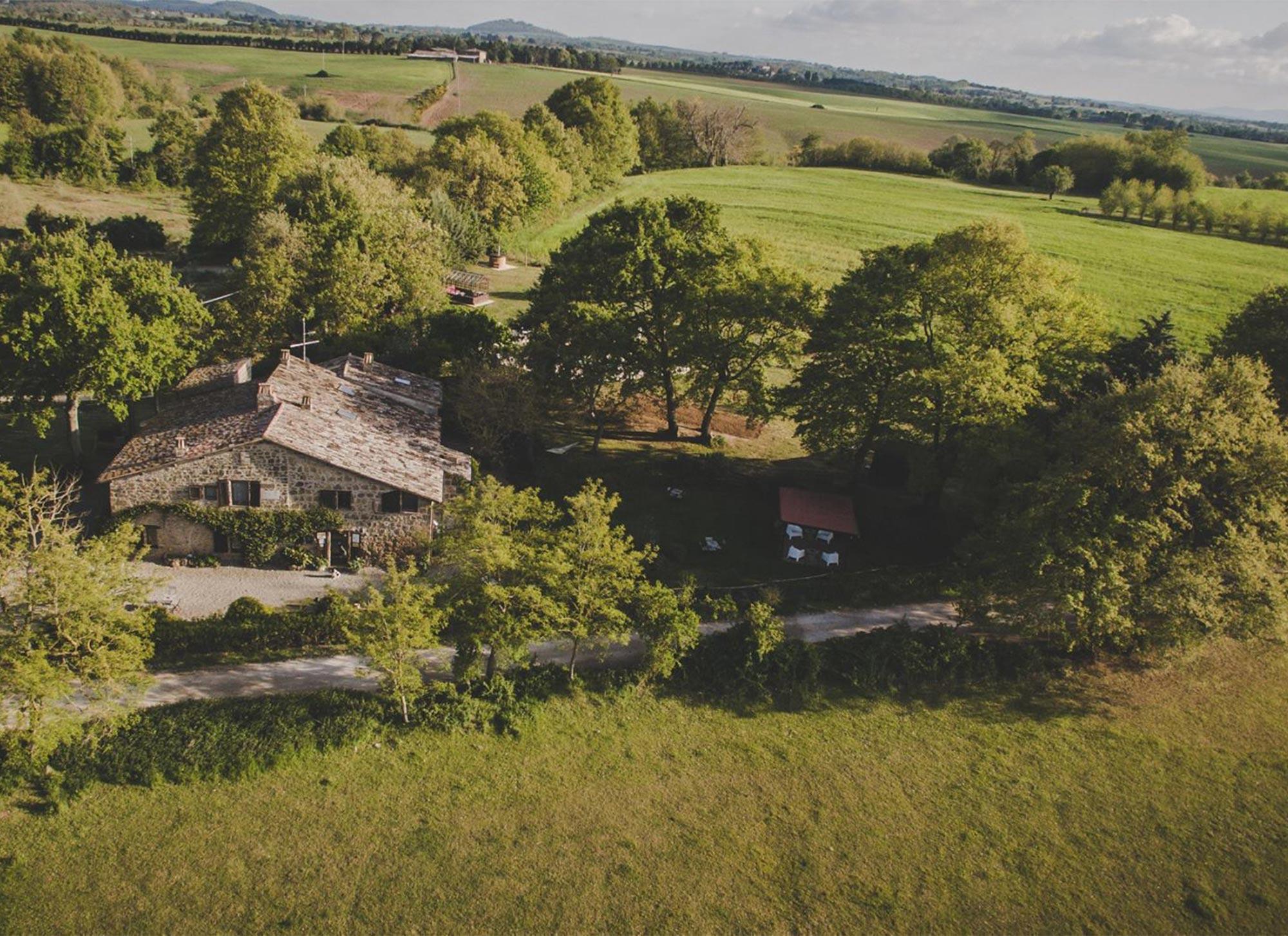 Das Agriturismo Biologico Sant'Egle in der Toskana