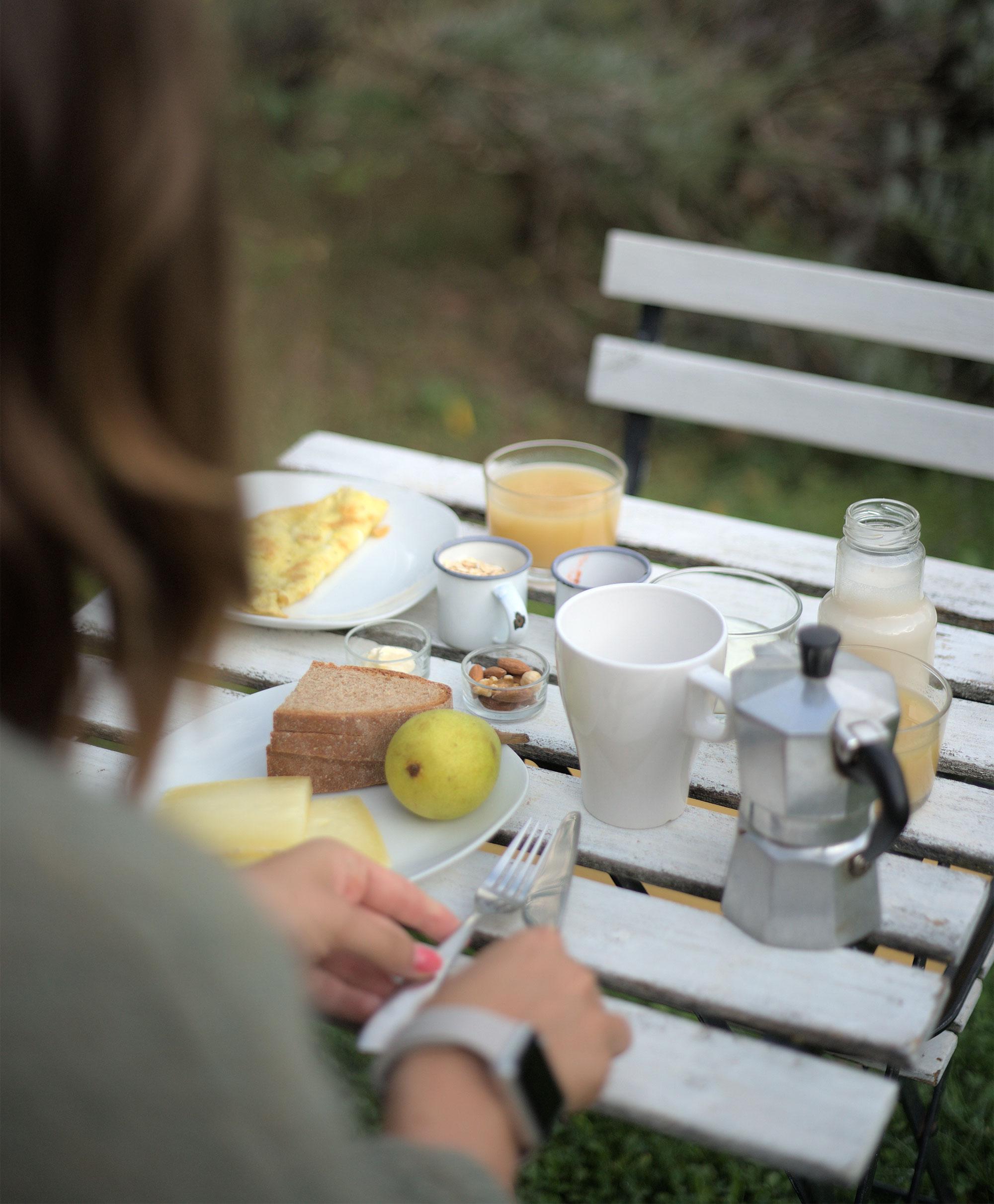 Frühstück im Sant'Egle