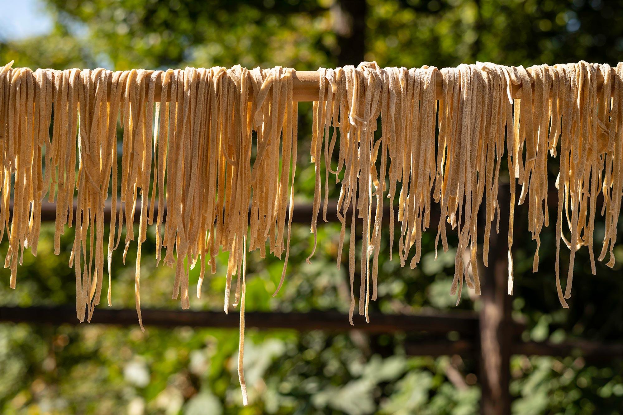 Enjoy homemade pasta at Novanta