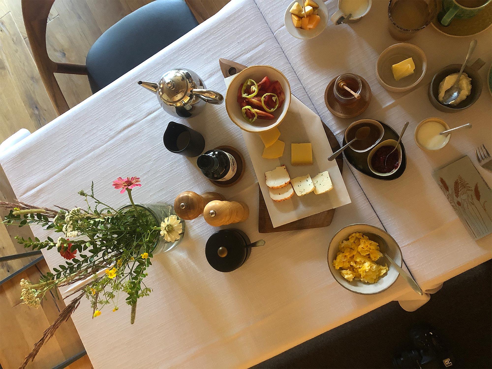 Privates Frühstücksbuffet für Zwei