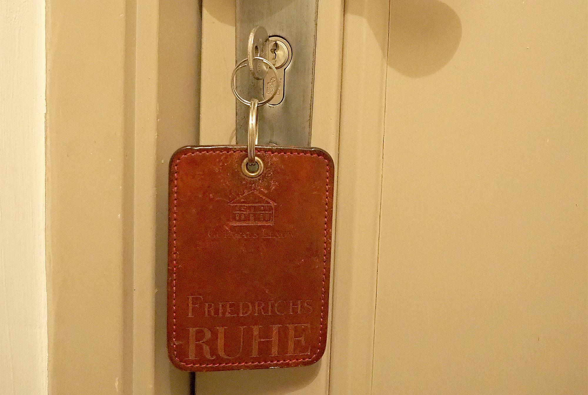 Der Schlüssel zum Zimmer Friedrichsruh